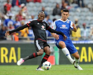 Pirates and SuperSport in action during the 2015/16 season
