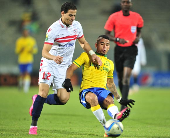 Zamalek lost home and away to Sundowns