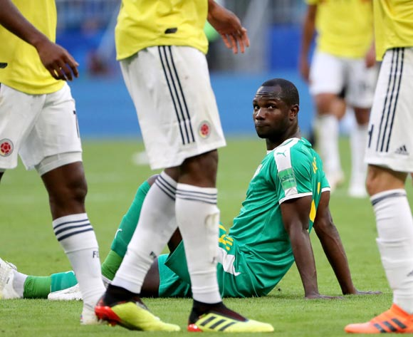 Moussa Konate of Senegal reacts after the FIFA World Cup 2018 group H preliminary round soccer match between Senegal and Colombia in Samara, Russia, 28 June 2018. EPA/Tatyana Zenkovich