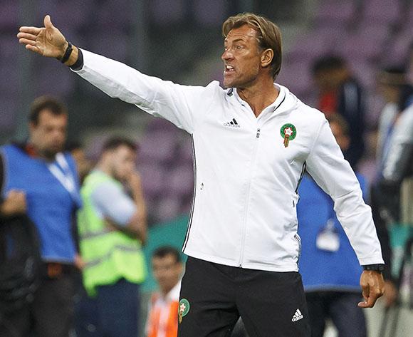 Morocco's head coach Herve Renard
