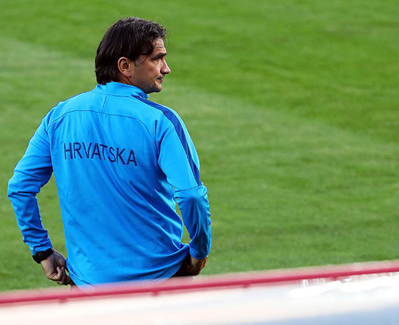 Croatia's head coach Zlatko Dalic leads his team's training session in Moscow, Russia, 09 July 2018. Croatia will face England in their FIFA World Cup 2018 semi final soccer match on 11 July 2018 in Moscow.  EPA/Abedin