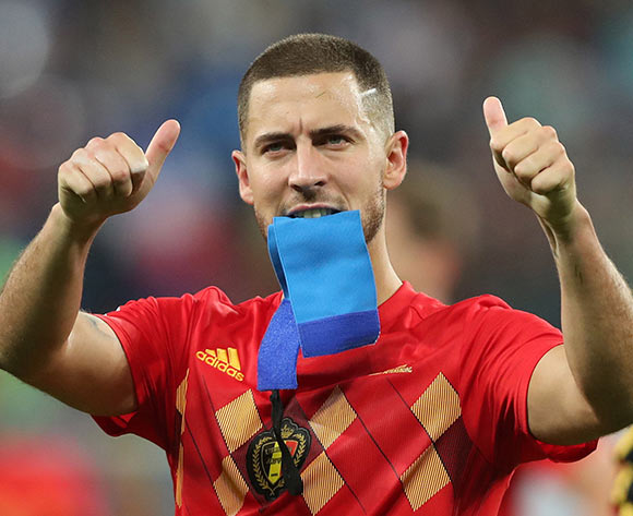 Eden Hazard of Belgium reacts after the FIFA World Cup 2018 semi final soccer match between France and Belgium in St.Petersburg, Russia, 10 July 2018. Belgium lost the match 0-1. EPA/Tolga Bozoglu